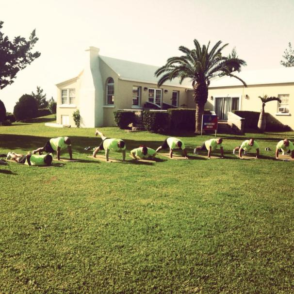 Bermuda Regiment Pilates With Liz Laing Bermuda